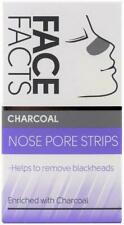 Face Facts Enriched Charcoal Deep Nose Cleansing Pore Strips Removes Blackheads