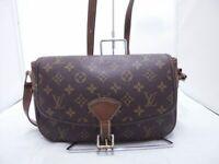 LOUIS VUITTON Women's Shoulder Bag Monogram Sologne M42250 LV Used