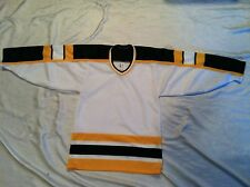 Pre-owned Women's Boston Bruins Bauer Black/Yellow Jersey Size P/S NHL