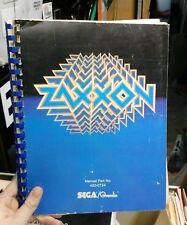 Sega/Gremlin Zaxxon Pinball Machine Manual - used original in good shape!