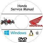 Manuali Officina Moto/Scooter HONDA - Assistenza, Riparazione e Manutenzione