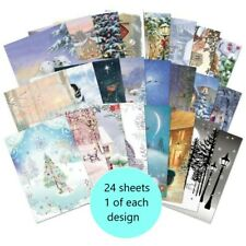 Hunkydory ~ A6 toppers  ~ **24 sample pages** ~ Winter Wonderland