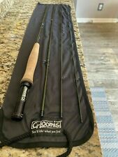 "G Loomis Nrx Lp 7'6"" Light Presentation 3wt Fly Rod 4 Pc Green 763-4 Gloomis"