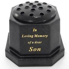 Son Memorial Vase