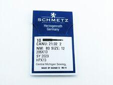 Schmetz Needles 10 Pack 206x13 size 12 Fits Singer Models 206 306 319
