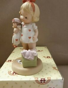 """Mabel Lucie Attwell,memories  1994 """"Nothing as nice as a brand new friend """"New"""