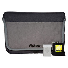 Nikon DSLR Accessory Kit With Carry Case Lens Cleaning Cloth & Battery