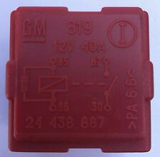 Vauxhall Ople Saab Engine Management Multi-Use 4-Pin Red Relay GM 24438887 OEM
