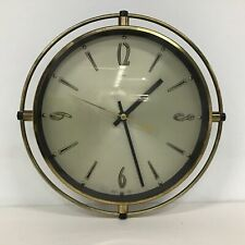 Metamec English German Case Made Round 25cm Clock #416