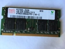 1GB (1x1GB) DDR1 PC2700S 333MHz SODIMM 200-pin Laptop Memory