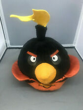 "Angry Birds Space Black Bomb Bird Toy Plush Stuffed Animal 5"" Inch"
