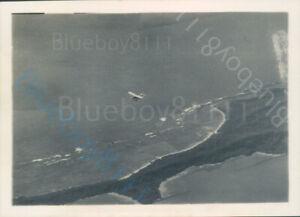 RAF Hawker Hart Flying over Mergui Archipelago Burma 1930's
