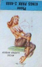 1952 PIN-UP GIRLIE: BROOKLYN HOTEL BAR & RESTAURANT (KINGS PARK, NEW YORK) -F17