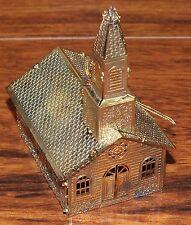 Kurt S.Adler Inkl. Vergoldet Messing Kirche Weihnachten Hängende Verzierung  ! (