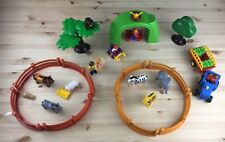 PLAYMOBIL Zoo Zebra Elephant Horse Rabbit Giraffe Donkey Monkey Farm Bundle