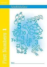 First Numbers Book 1 (of 4): Key Stage 1, Years 1 & 2 by Anne Evans