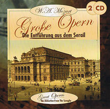 "W.A.Mozart "" Die Entführung from the Serail "" 2 CD Box NIP"