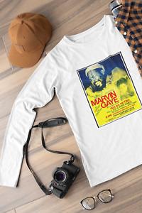 Marvin Gaye Special Guest Melba Moore Art Print LONG SLEEVED TEE T-SHIRT