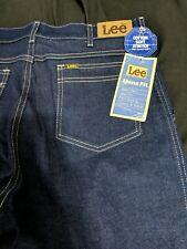 New listing Nos Vtg Lee Riders Dark Indigo Denim Jeans 33x32 Usa Made Rockabilly 80s