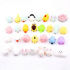 10pcs Cute Squishy Mini Animal Soft Silicone Toys Fidget Hand Squeeze Pinch Toy