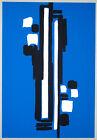 """Carla BADIALI - """"Composizione"""" (tavola 7), 1983 - Serigrafia, 33 x 48 cm"""