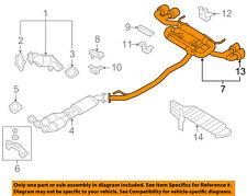 NISSAN OEM 11-18 GT-R 3.8L-V6-Muffler 20100KB50A