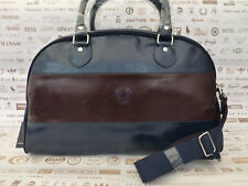 FRED PERRY Grip Bag L1230 Navy Weekend Holdall Shoulder Bowler Carry Bags BNWT