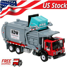 KDW 1:24 Diecast Transporter Garbage Truck Alloy Vehicle Car Model Kid Toy Gift
