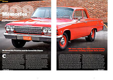 1962 CHEVROLET BEL AIR TWO-DOOR SEDAN 409/409-HP  ~  GREAT 4-PAGE ARTICLE / AD