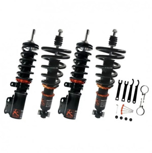 Hyundai Excel KSPORT Coilover Kit - Fully Adjustable Front & Rear Suspensions