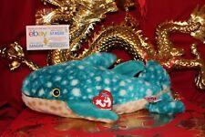 "Ty Beanie Buddy Poseidon The Whale-5"" X 14""-Mwnmt-2002 Release-Nice Gift"