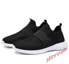 Mens Korean Slip On lightweight Breathable Sneakers Casual Sport Shoes Fashion