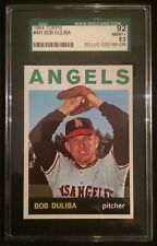 1964 TOPPS BOB DULIBA LOS ANGELES ANGELS #441--GRADED SGC 92=8.5=NR MINT-MINT+!