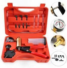 Vacuum Pressure Tester Kit handheld pump air leaking fluid brake bleeding lines