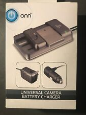 ONN Universal Camera Battery Charger