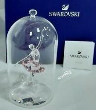 Swarovski Ballerina under Bell Jar, Dancing Pink Crystal Authentic MIB 5428649