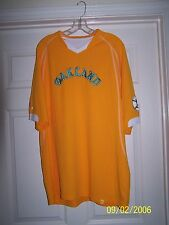 1968 Oakland A's Athletics Cooperstown Majestic Collection Jersey New XL