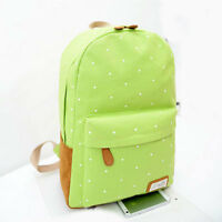 Casual Womens Girls Travel Camping Canvas Backpack Rucksack School Shoulder bags
