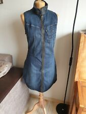 Womens G-STAR RAW Denim Dress Size M/40/UK12 Very Good Condition