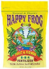 Hydrofarm, Foxfarm, 4 LB, 5-8-4, Happy Frog, Fruit & Flower Fertilizer