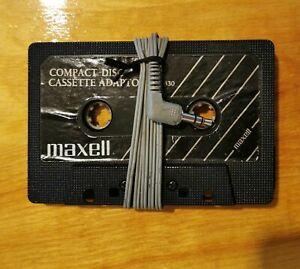 Maxell cassette adaptor for car radio