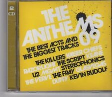 (FX464) The Anthems 09, 2CD  - 2009 CD