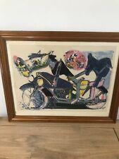 lithographie bernard lorjou 1908-1986