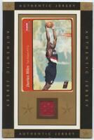 Darius Miles Vintage Sports Cards Game Worn Jersey 2004-05 Fleer Tradition