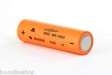 1 x batería mnke IMR 18650 1500 mah 3.7v litio rechargeable batería alta electricidad RC
