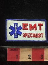 Vtg EMT SPECIALIST Patch - Medical Field Related - Star Of Life  77G