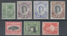 TONGA 1942 SHORT SET OT 1/- (x7) MINT (ID:243/D59304)