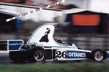 9x6 Photograph Jacques Laffite  Ligier-Matra JS5 , South African GP Kyalami 1976