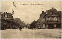 REIMS ~1930 CPA Frankreich France Place Drouet Erlon Carte Hotel Continental