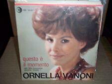 """ORNELLA VANONI questo e il momento ( world music ) 7""""/45 italy"""